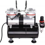 AW Pro 1/3 HP Twin-Cylinder Airbrush Compressor Review