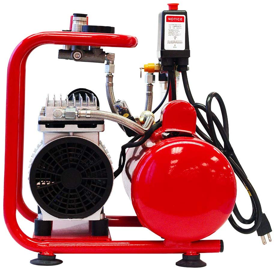The Paasche Airbrush DC850R Compressor