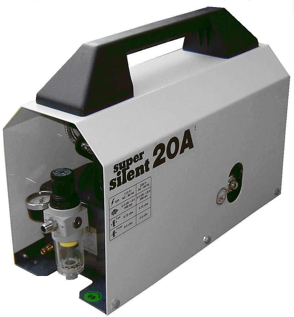 Silentaire Super Silent 20-a Whisper Quiet Airbrush Compressor photo