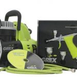 REVIEW - Grex GCK03 Airbrush Combo Kit with Tritium.TG3 Airbrush, AC1810-A Compressor