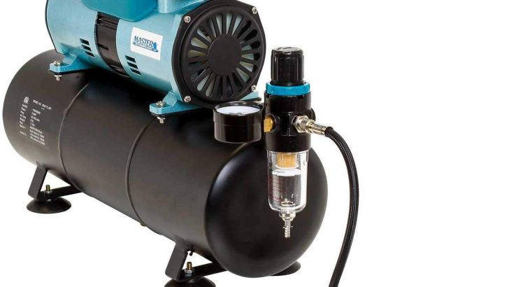 Master Airbrush 1/4 hp Twin Cylinder Piston Air Compressor  Review